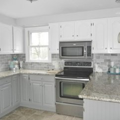 Gray Kitchen Cabinets For Sale By Owner Stylish Two Tone Your Inspiration Hative White And Light