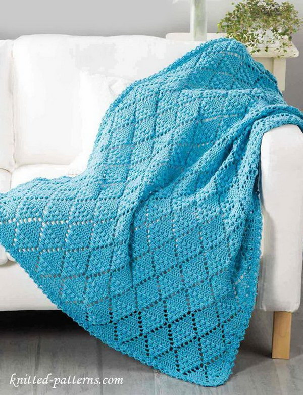 Cool  Easy Crochet Blankets With Lots of Tutorials and