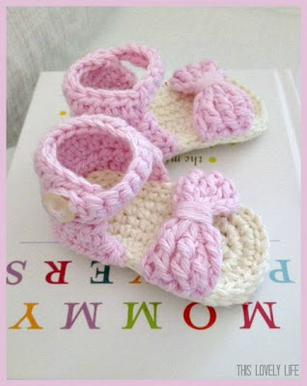 crochet baby booties diagram cat5e wall jack wiring cool patterns ideas for babies hative sandals