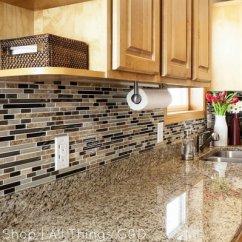 Kitchen Backsplashes Cabinets Design With Islands 35 Beautiful Backsplash Ideas Hative Diy Linear Mosaic Tile