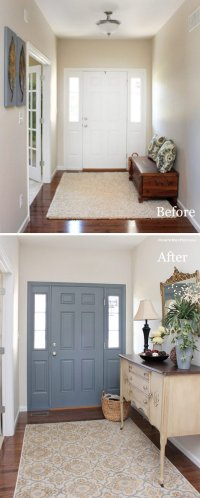 30+ Amazing Entryway Makeover Ideas And Tutorials - Hative