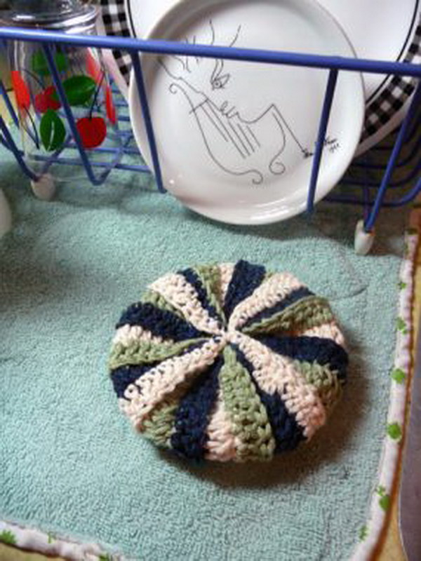 Knitted Dish Scrubbie Pattern