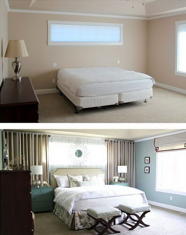 Image Result For How To Make A Small Bedroom Look Bigger