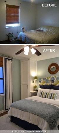 Creative Ways To Make Your Small Bedroom Look Bigger - Hative