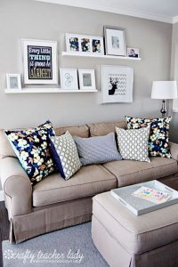 20 Great Ways to Make Use Of The Space Behind Couch For ...