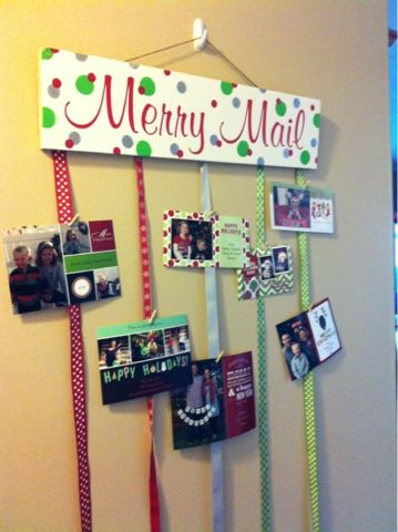 Festive Ways To Display Your Photos And Cards For