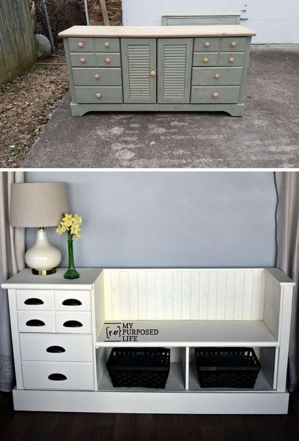30 Fabulous Furniture Makeover DIY Projects  Hative