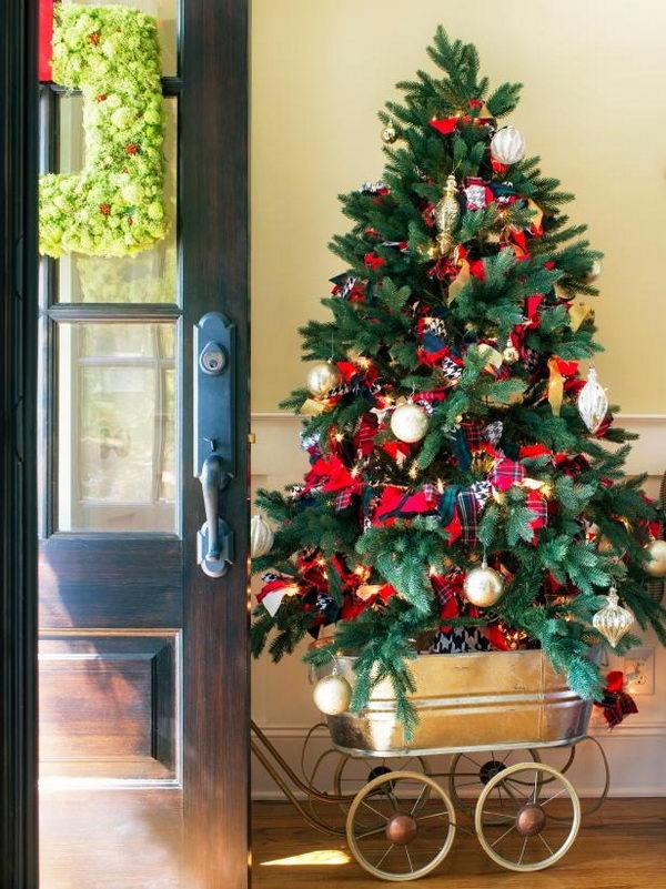 New England Fall Themed Wallpaper 30 Creative Christmas Tree Stand Diy Ideas Hative