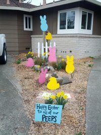 30 DIY Easter Outdoor Decorations - Hative