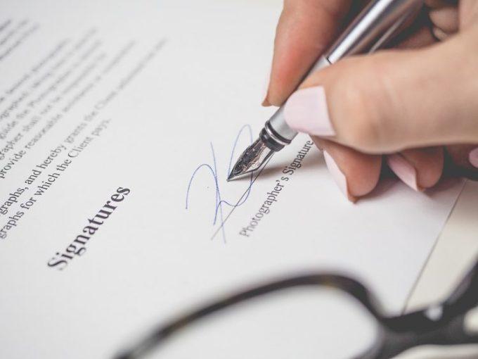 Surat Perjanjian Kontrak Tanah Rumah Kios Ruko Contoh