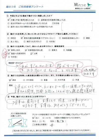 宮澤 アンケート福島さん