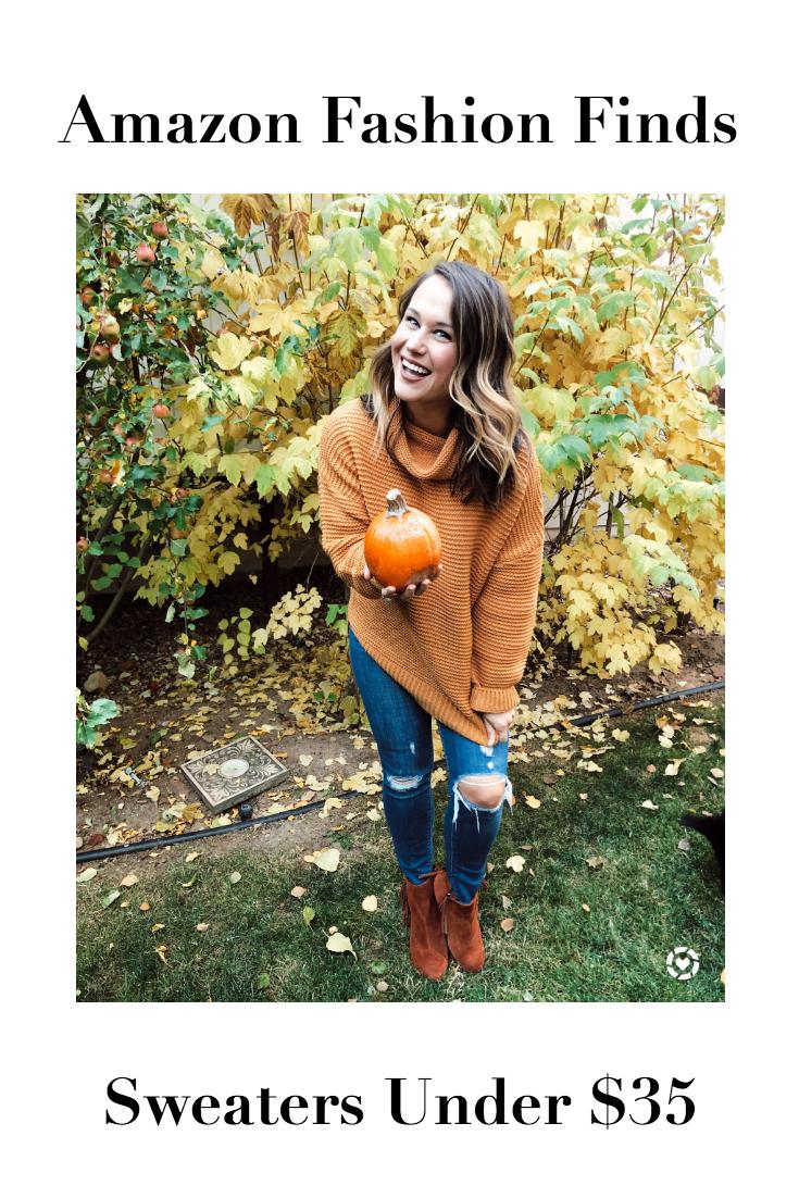 November Amazon Fashion Haul: Sweaters Under $35