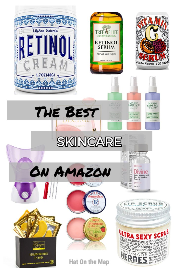The Best Skincare Products Found On Amazon
