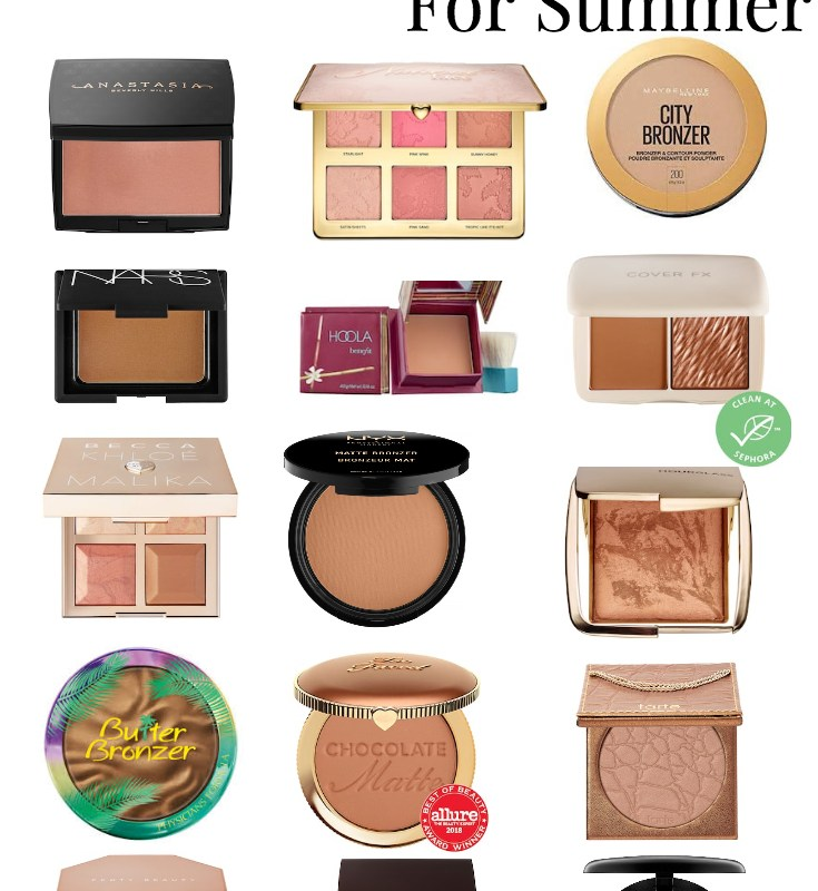 The Best Bronzers For Summer