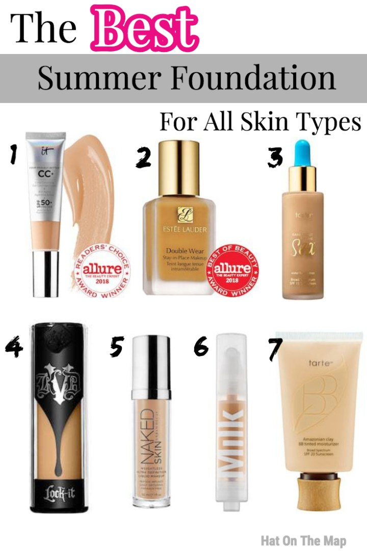 Summer Foundation for dry skin
