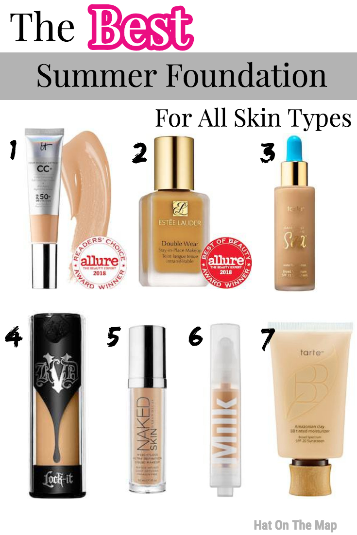 The Best Summer Foundation For All Skin Types