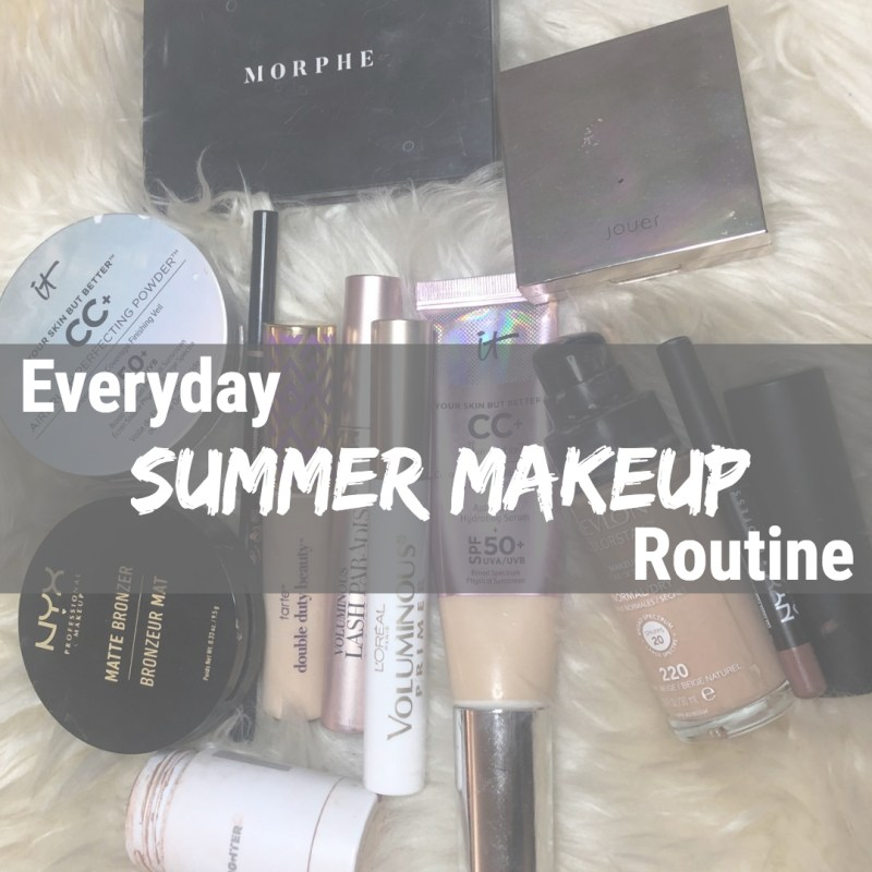 Everyday Summer Makeup Routine