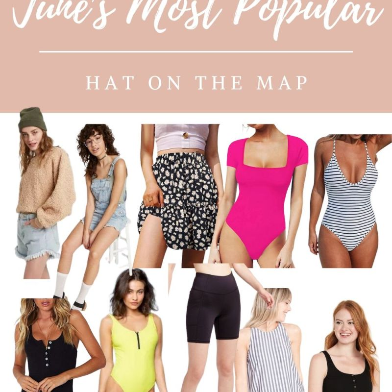 June's Most Popular On Hat On The Map