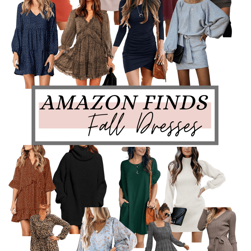 Amazon Finds: Fall Dresses