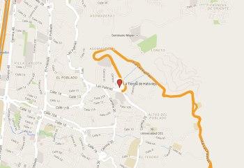 Mapa La Tienda de Hatoviejo