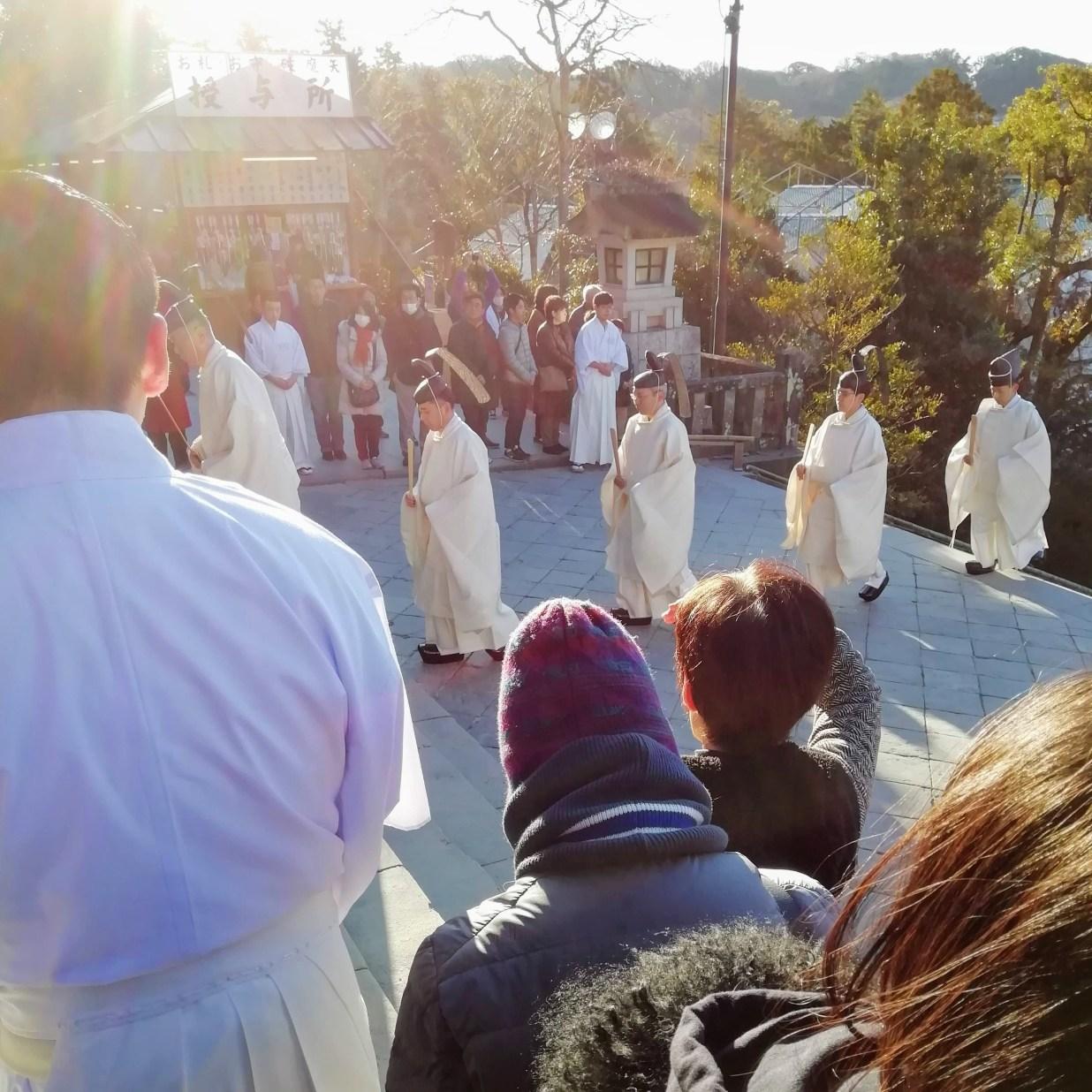 鎌倉 鶴岡八幡宮 元始祭