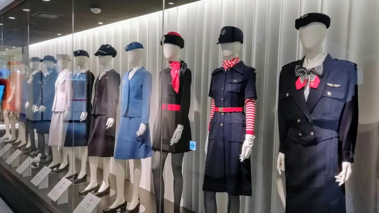 日本航空(JAL) 歴代CA 制服