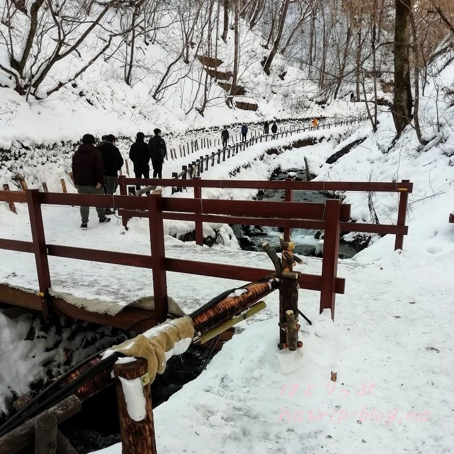 軽井沢 白糸の滝 遊歩道