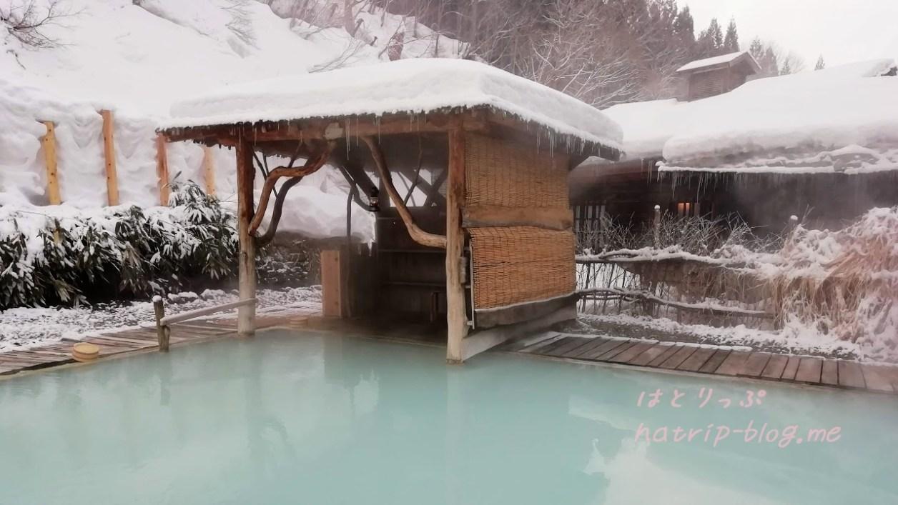 乳頭温泉郷・鶴の湯温泉 女性専用露天風呂