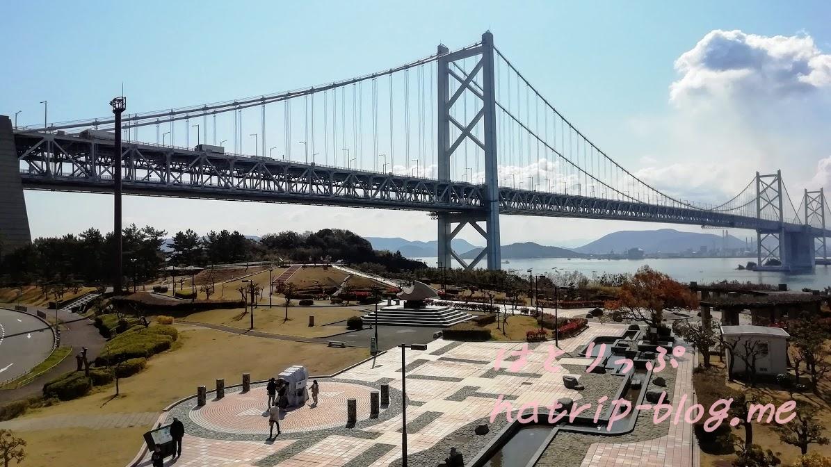 瀬戸大橋 与島パーキングエリア 屋上展望台
