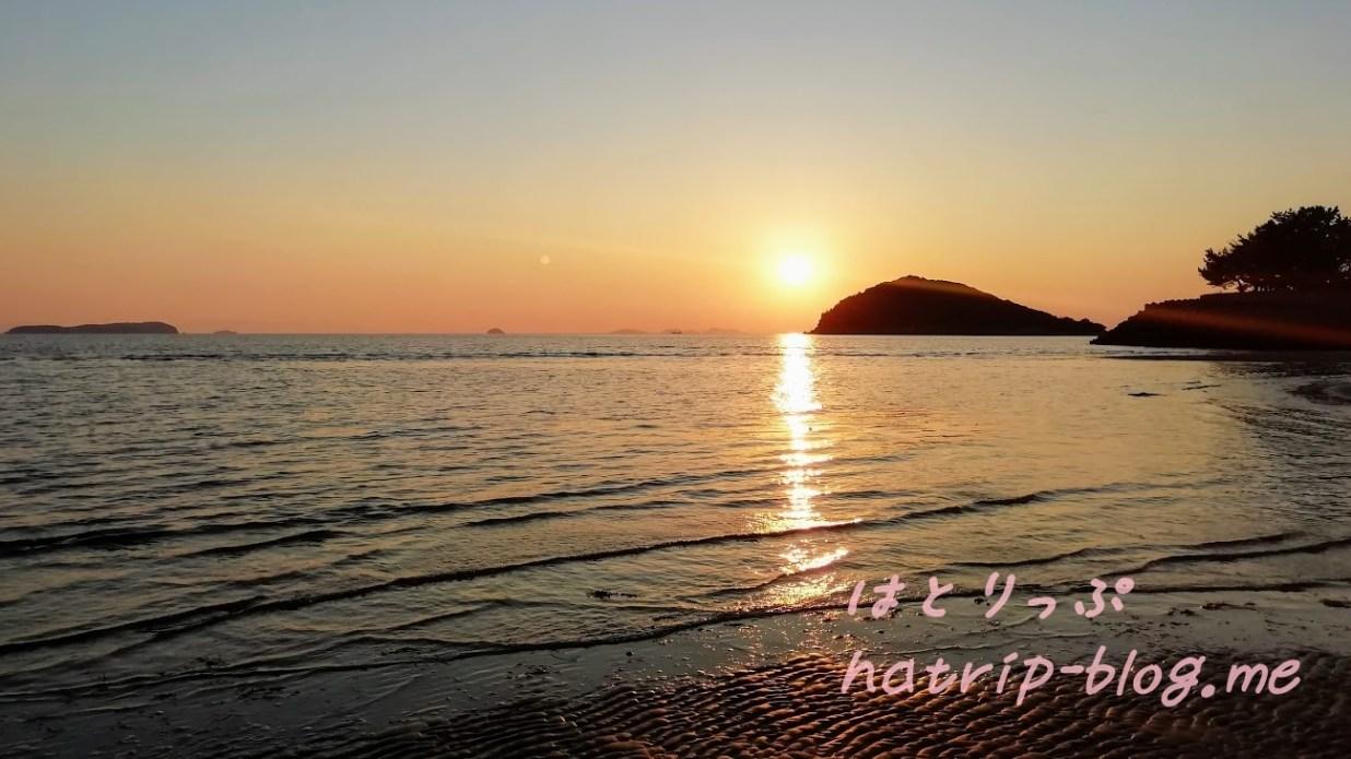 日本 ウユニ塩湖 父母ヶ浜海水浴場