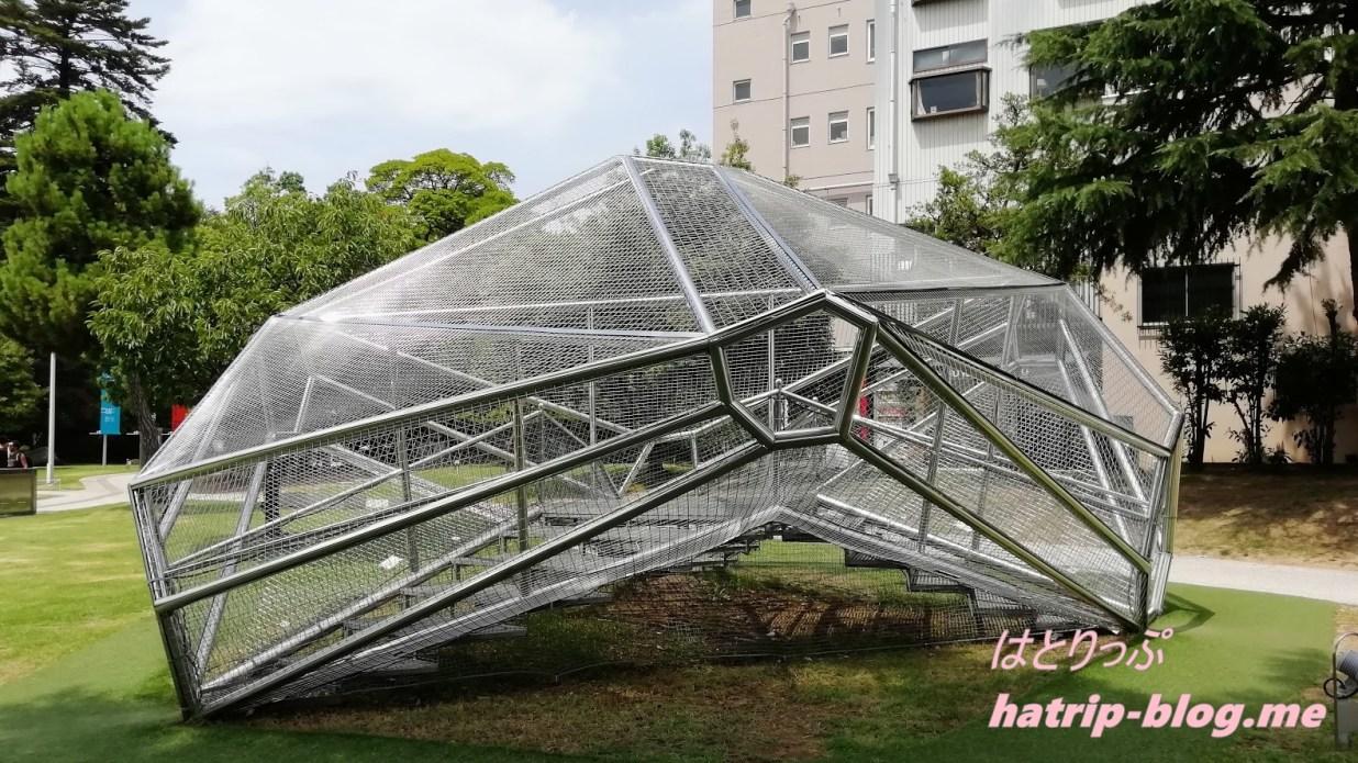 石川県金沢市 金沢21世紀美術館 ラッピング