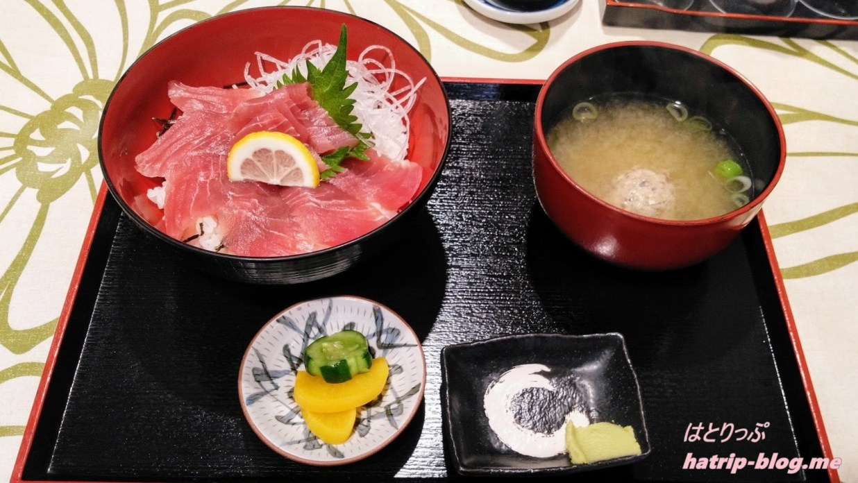 石川県七尾市 道の駅 のとじま交流市場 大漁屋 まぐろ丼