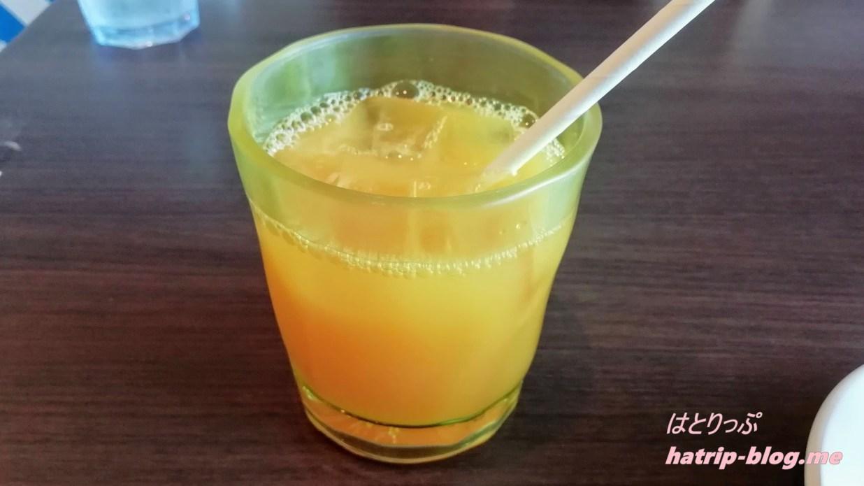 鳥取県鳥取市 すなば珈琲 賀露店 オレンジジュース