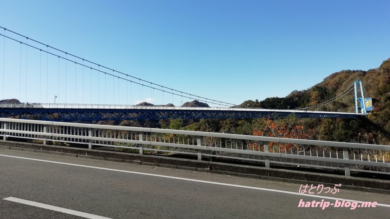 茨城県常陸太田市 竜神峡・竜神大吊橋
