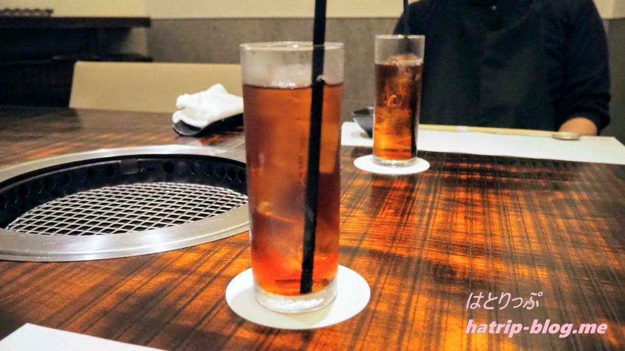 東京都中央区 焼肉 excellent エクセレント 銀座店 ウーロン茶
