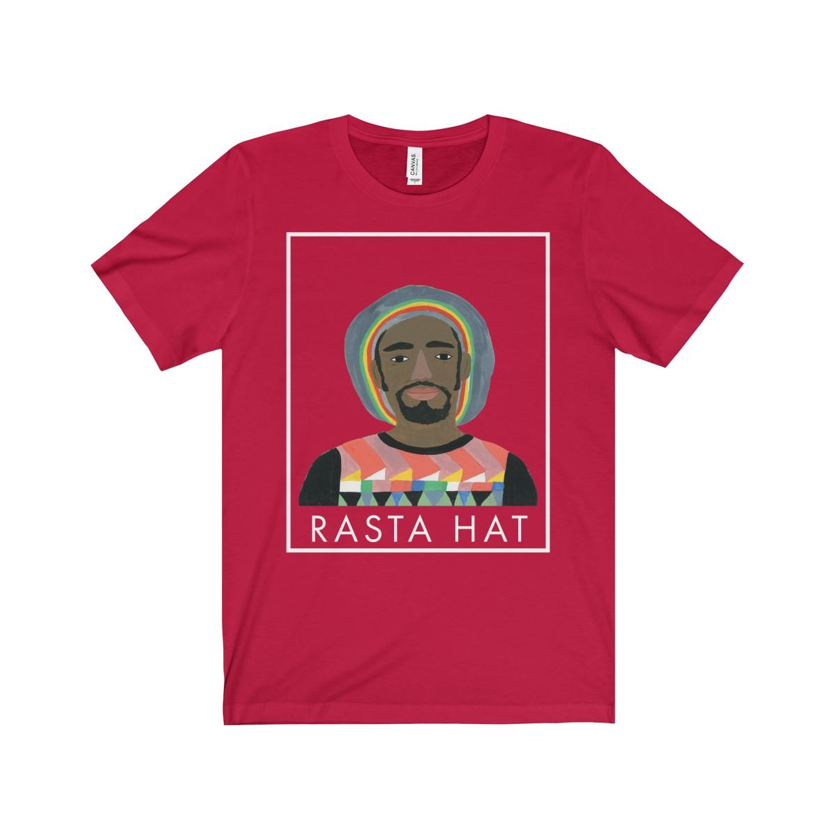 Rasta Cap Adult T-shirt - Hats of Faith 910d5a919f6f3