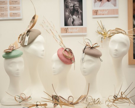 Emma Fozard Millinery Stunning wood vaneer headpieces_Photography by Gareth Lowe