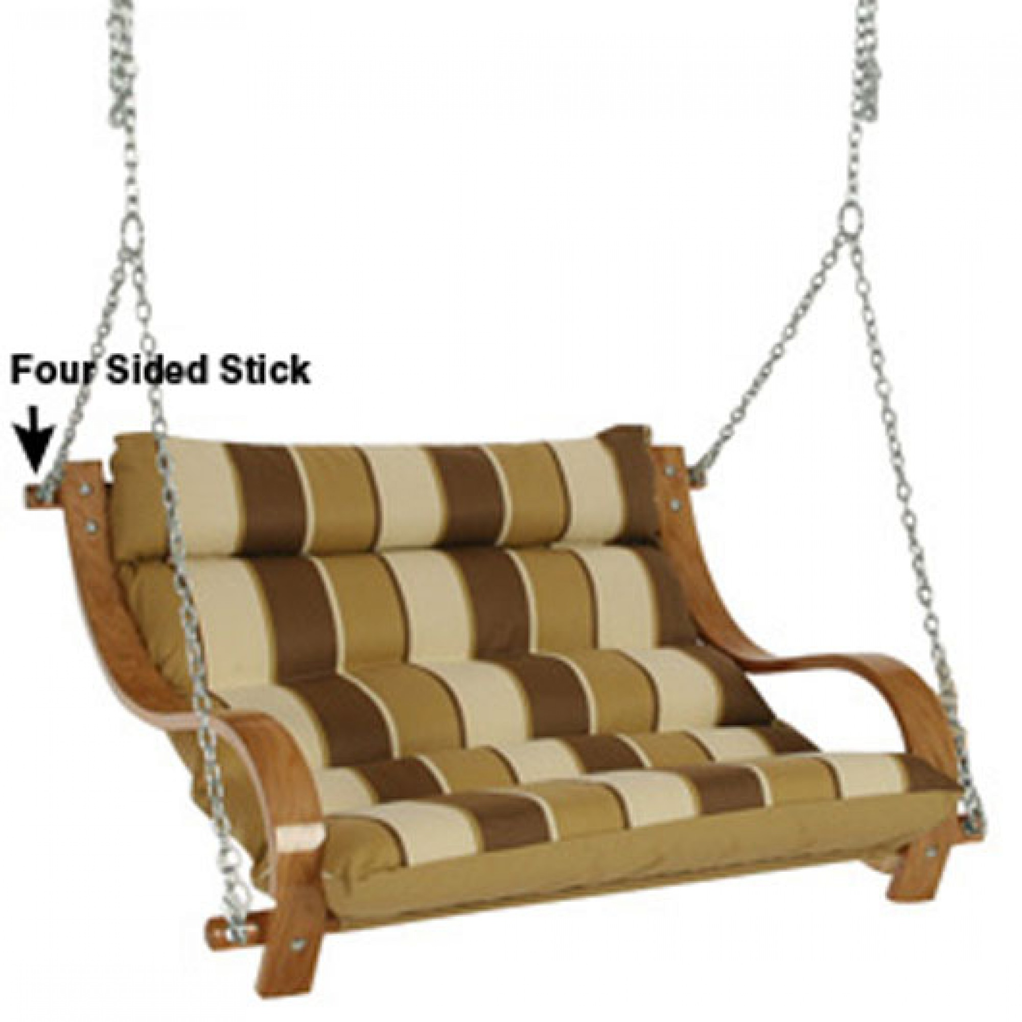 Replacement Parts for 60 inch Double Cushion Swing on Sale