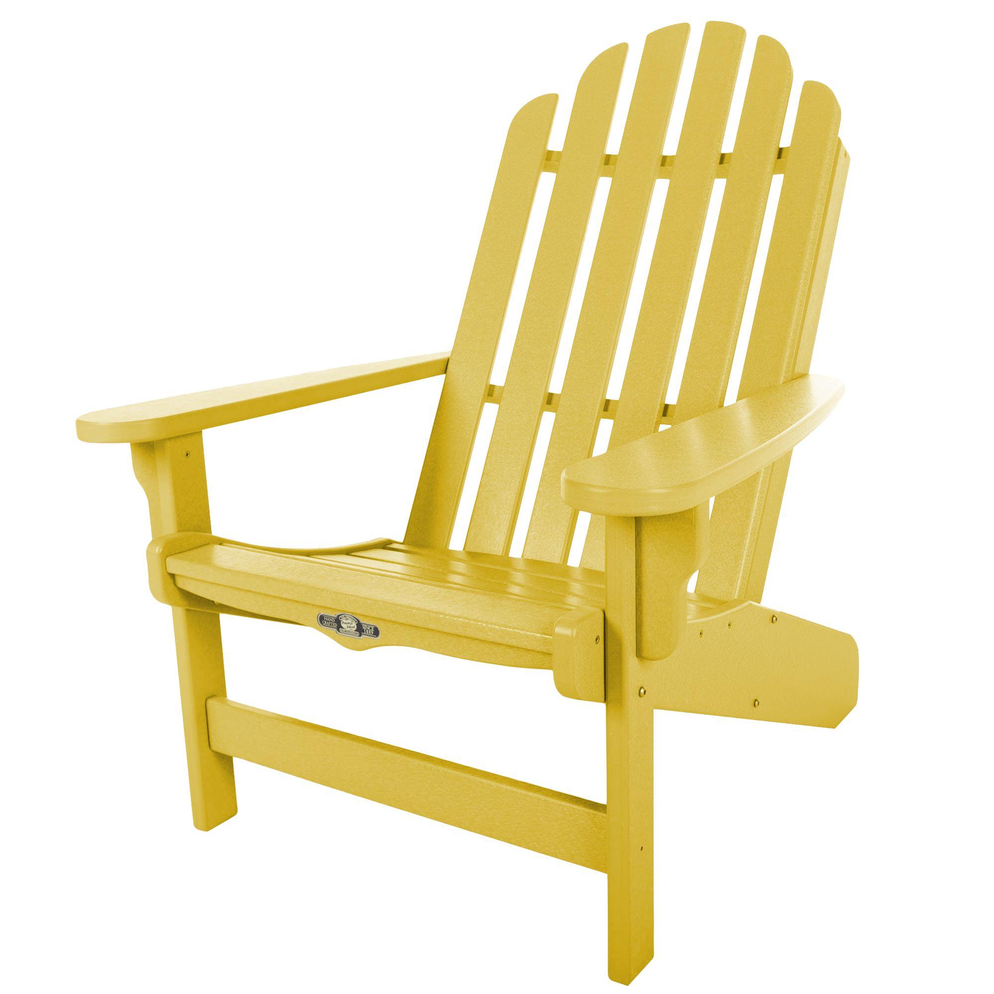 yellow adirondack chairs plastic carpet chair mat target essentials durawood pawleys island sku