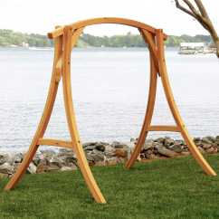 Swing Chair With Stand Outdoor Rocking Avalon Cypress On Sale S 2st