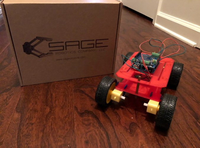 Drone Kit Challenge Presented By Sage Robotics Company