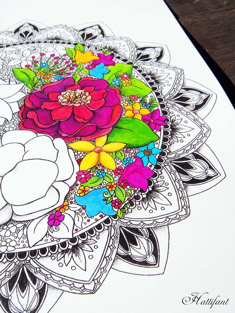 Hattifants Favorite Grown Up Coloring Pages Hattifant