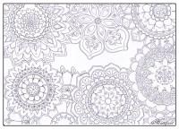 Stress Relief Mandala Flowers - Hattifant