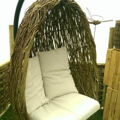 Hanging Egg Chair Uk 2 Chairs Tattoo Hatton Willow