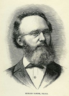 Portrait by Frank Hewett. Taken from One and All an Autobiography of Richard Tangye