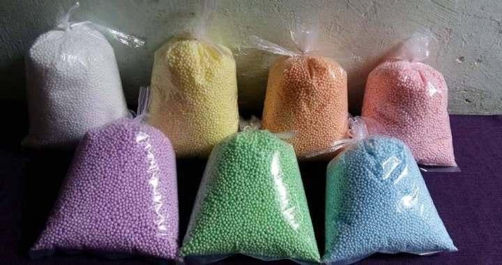 Hạt Xốp làm Color foam mua ở đâu