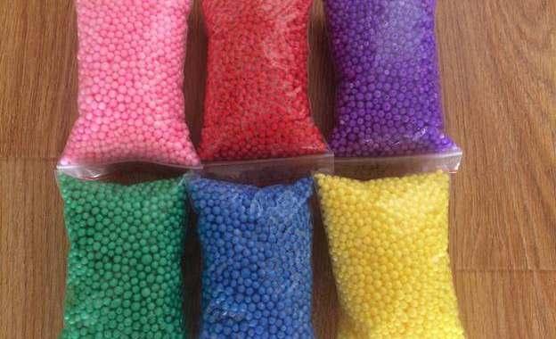 Mua hạt xốp ở TPHCM để làm gối lười thì mua ở đâu?