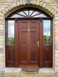 Doors external, Donegal. Door frames with 3 point locking ...
