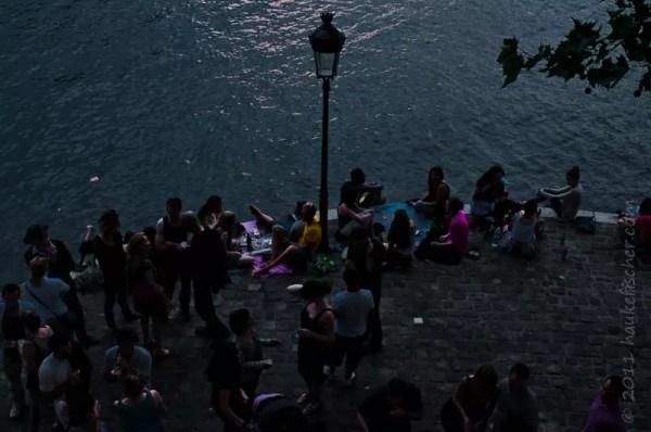 ... alors, on se rencontre pour le souper au bord de Seine