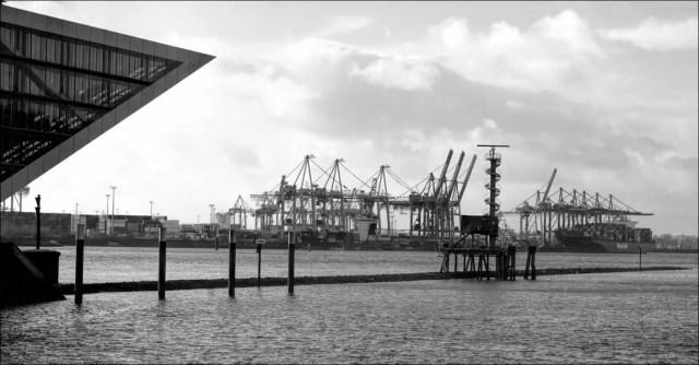 le « proue » du bâtiment « Dockland »